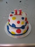 11th spotty cake