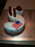50th cake cowboy