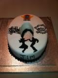 50th cake rock n roll