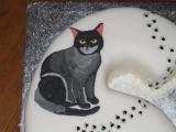 60th birthday cake cats4