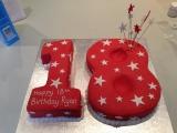18 red cake