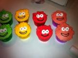 Puffle cupcake 3
