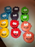 Puffle cupcakes 4
