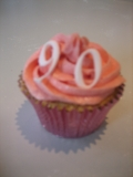 90th Birthday cupcakes