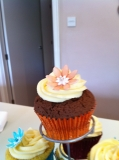 Flower cupcakes 4