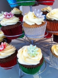 Flower cupcakes 3