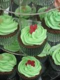 Green cupcakes 4