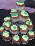 Green cupcakes 5