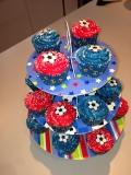Football cupcakes 2