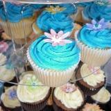 Blue cupcakes 2
