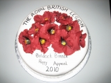 British Legion Cake