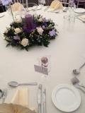 Purple Wedding Cupcake Tower 7