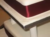 Square 4 tier Wedding Cake 4