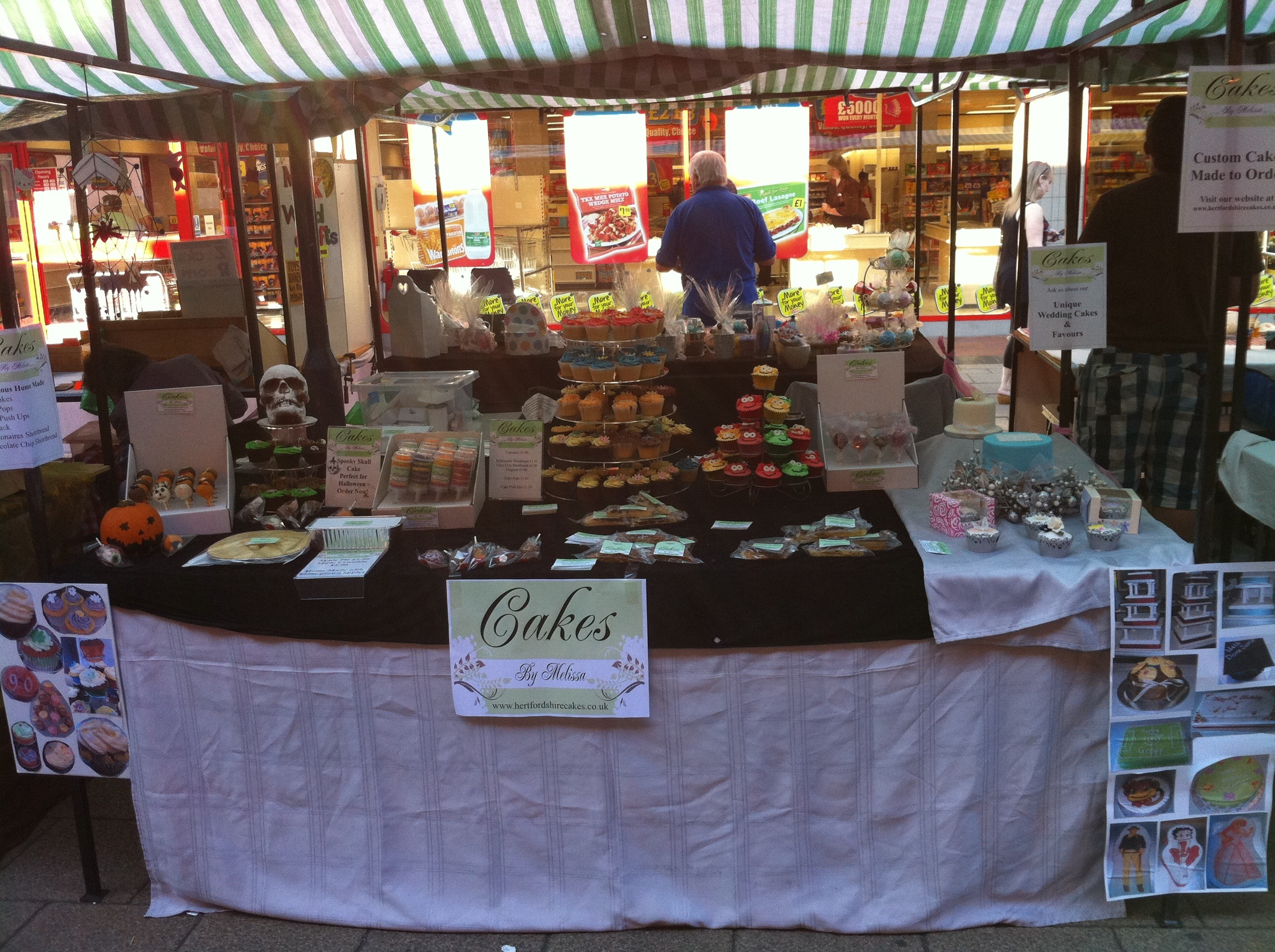 Come To The Market Stall 187 Cakes By Melissa